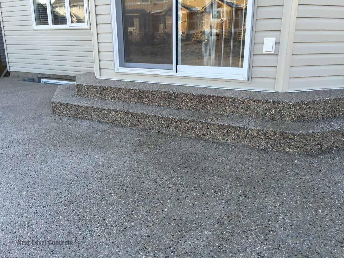 Aggregate Deck | Edmonton Exposed Aggregate U2013 Next Level Concrete Ltd