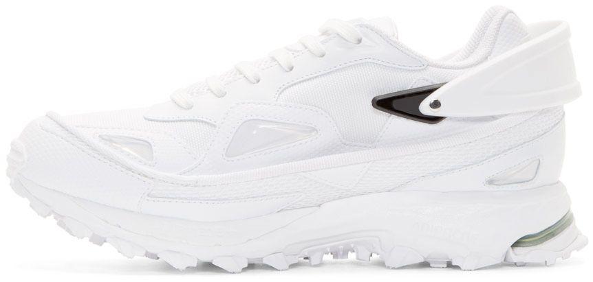 Raf Simons White adidas by RAF SIMONS Response Trail Sneakers