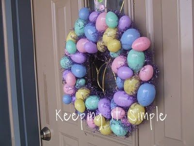 Photo of Tutorial Tuesday: Easter Wreath • Keeping it Simple