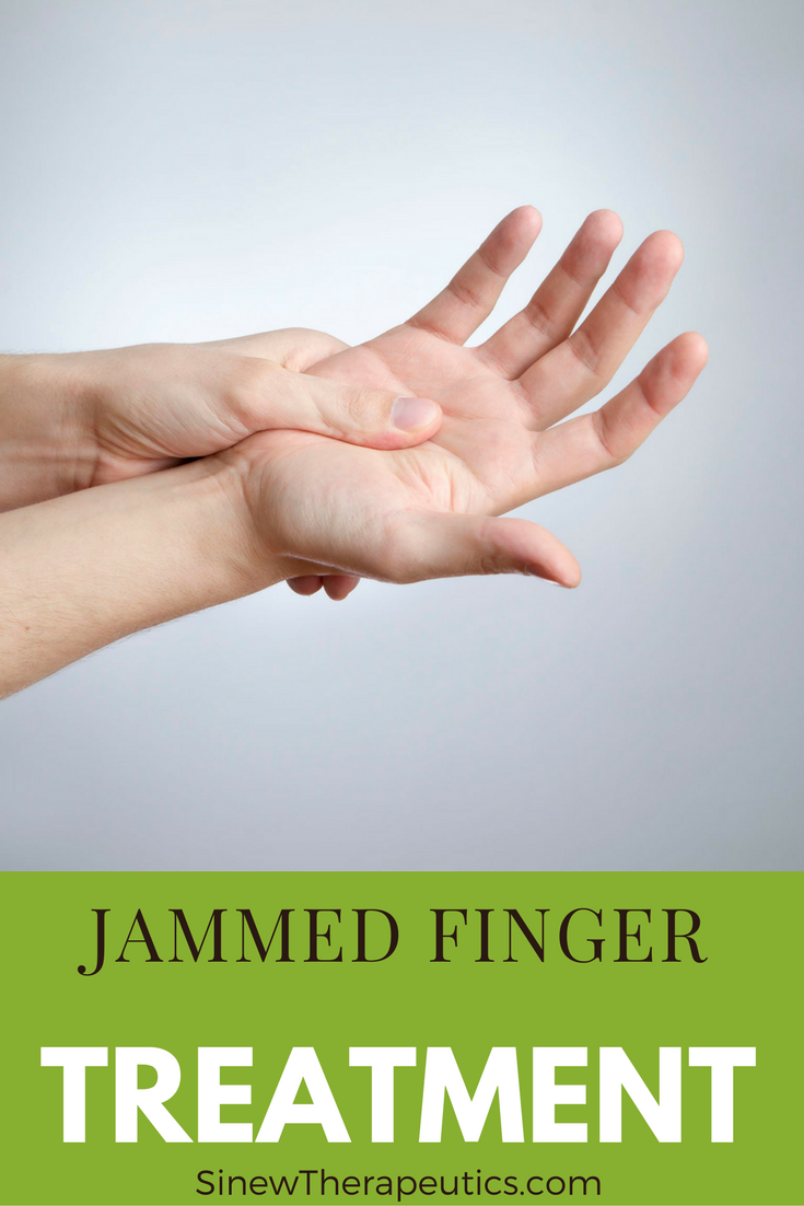 Jammed Finger Treatment - Soak your finger with the Sinew Relaxing ...