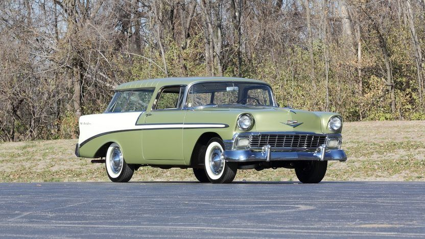 1956 Chevrolet Nomad Wagon, 265 4bbl PowerPack/2sp