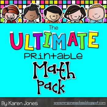 The ULTIMATE Printable Math Pack: Kindergarten Math | Math, Math ...