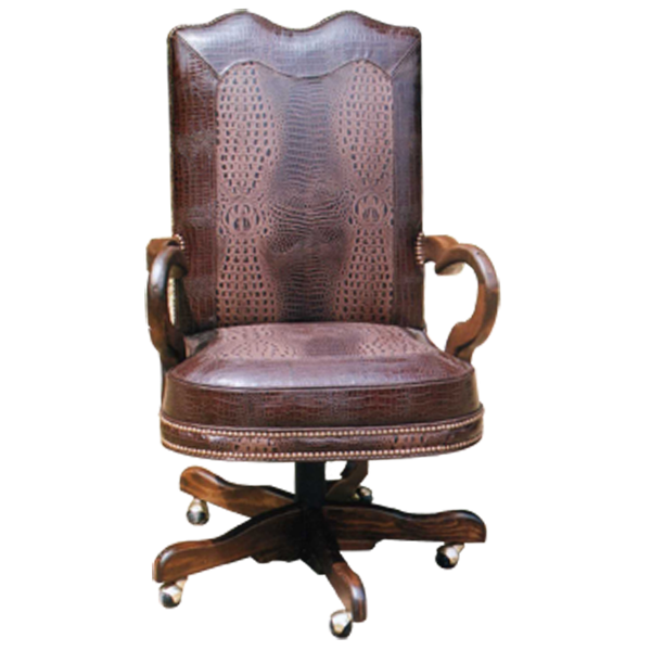 Cool Spanish Crocodile Skin Office Chair Office Chairs Andrewgaddart Wooden Chair Designs For Living Room Andrewgaddartcom