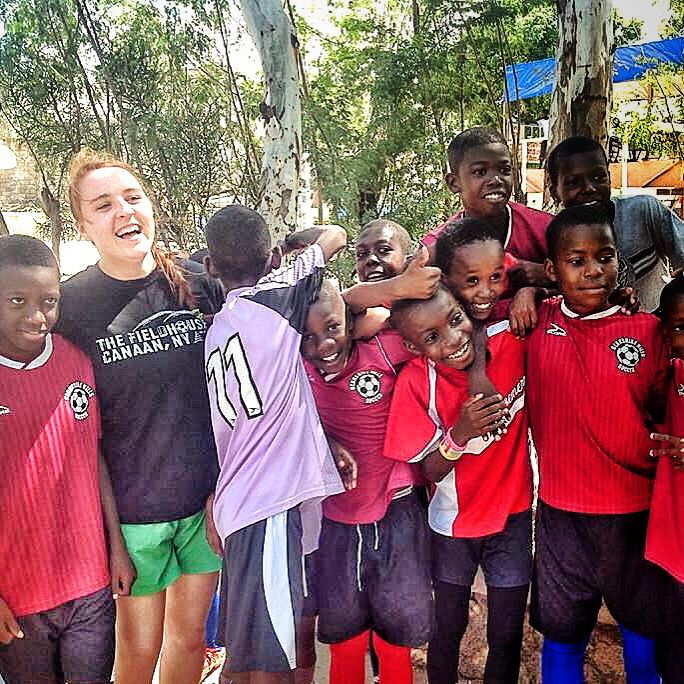 Where in the world is the Fieldhouse? In Haiti with #HotFutbol! #lovethegame #soccer #futbol