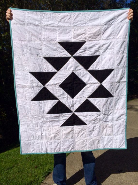 Hey, I found this really awesome Etsy listing at https://www.etsy.com/listing/205083808/aztec-baby-girl-quilt