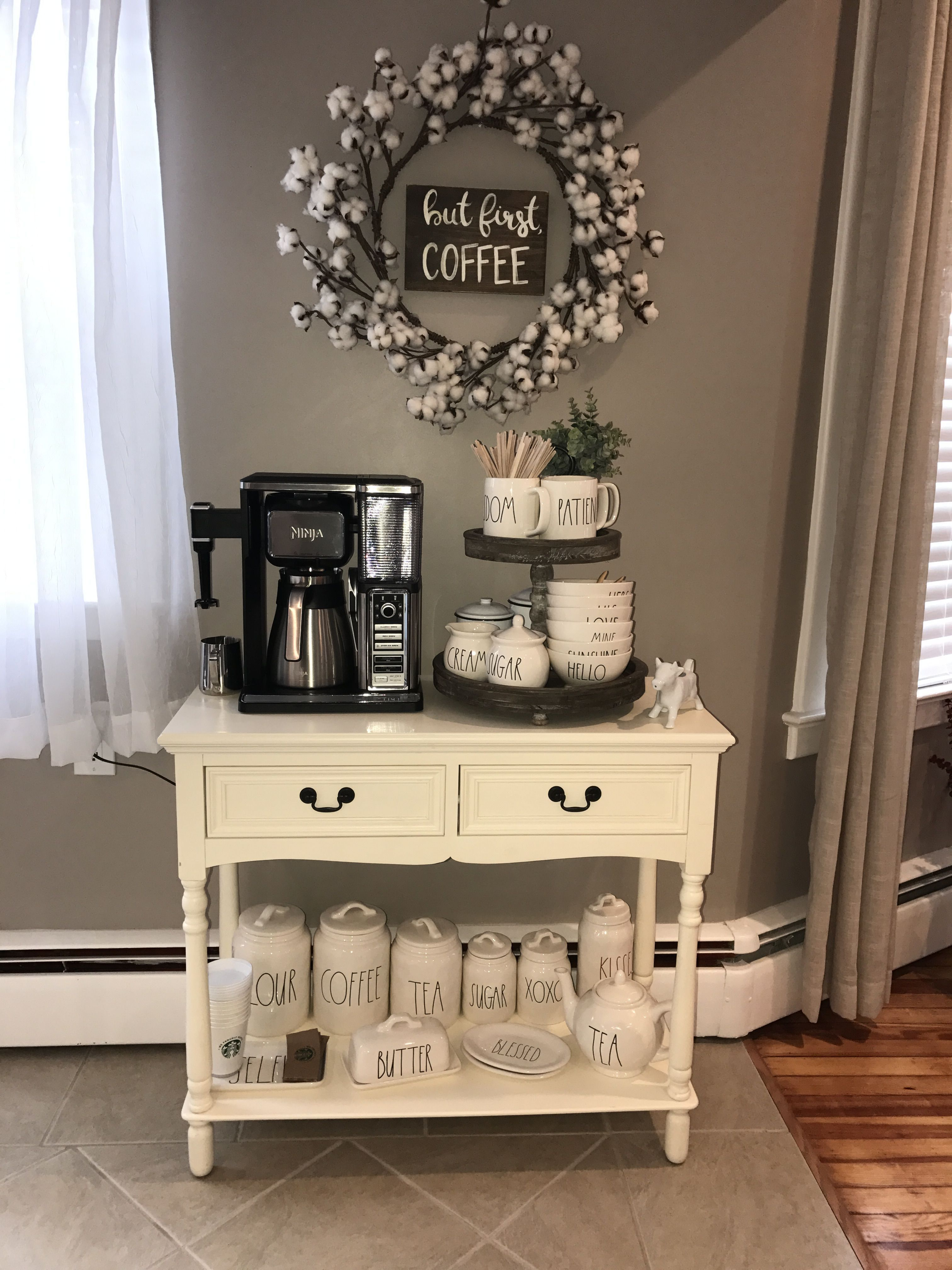 50 Save Space With A Farmhouse Home Bar - Homiku.com