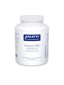 NUTRIENT 950В® W/O IRON 360 VCAPS
