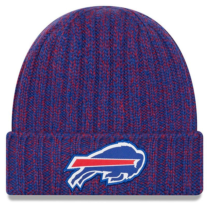 purchase cheap 2e5a5 49788 Buffalo Bills New Era Women s 2018 NFL Sideline Cold Weather Official Knit  Hat – Royal
