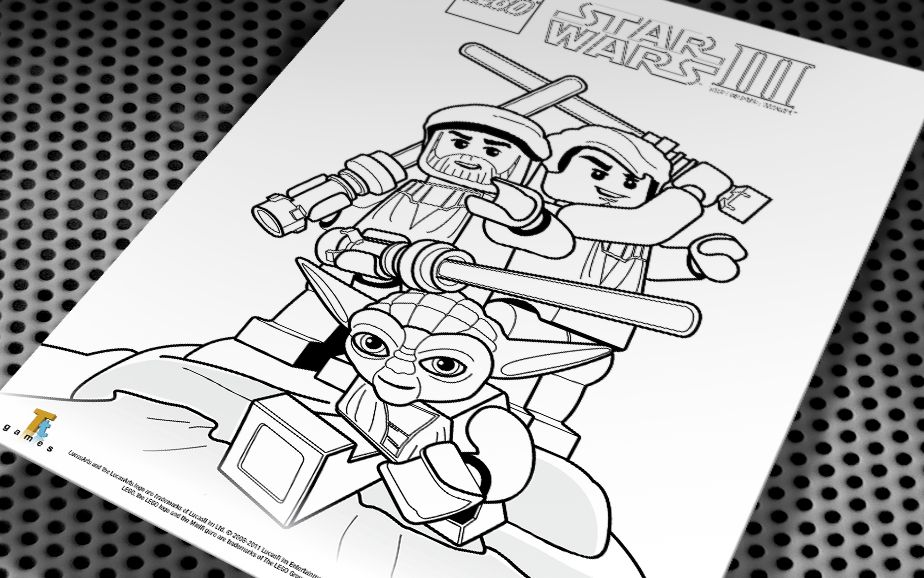 free lego star wars coloring pages | Lego Star Wars Coloring Pages ...