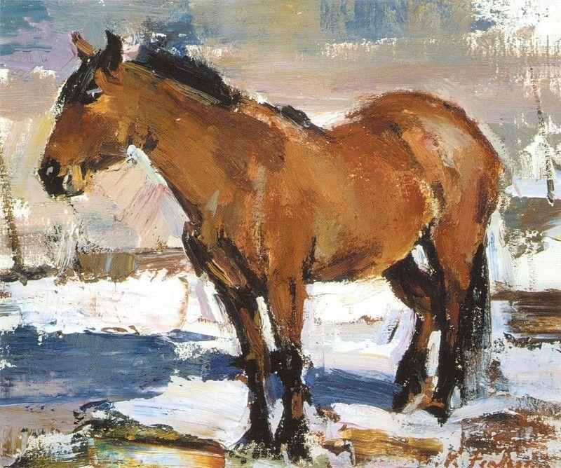 Рабочая лошадка (1927—1933). Николай Фешин