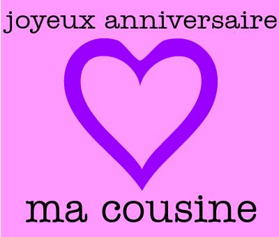 Cousin Joyeux Anniversaire vous êtes une Star-Cousin Carte D/'Anniversaire