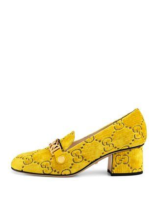 3809b892957 Gucci GG Supreme Velvet Loafer