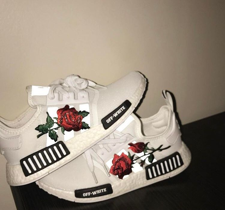 off white custom NMD