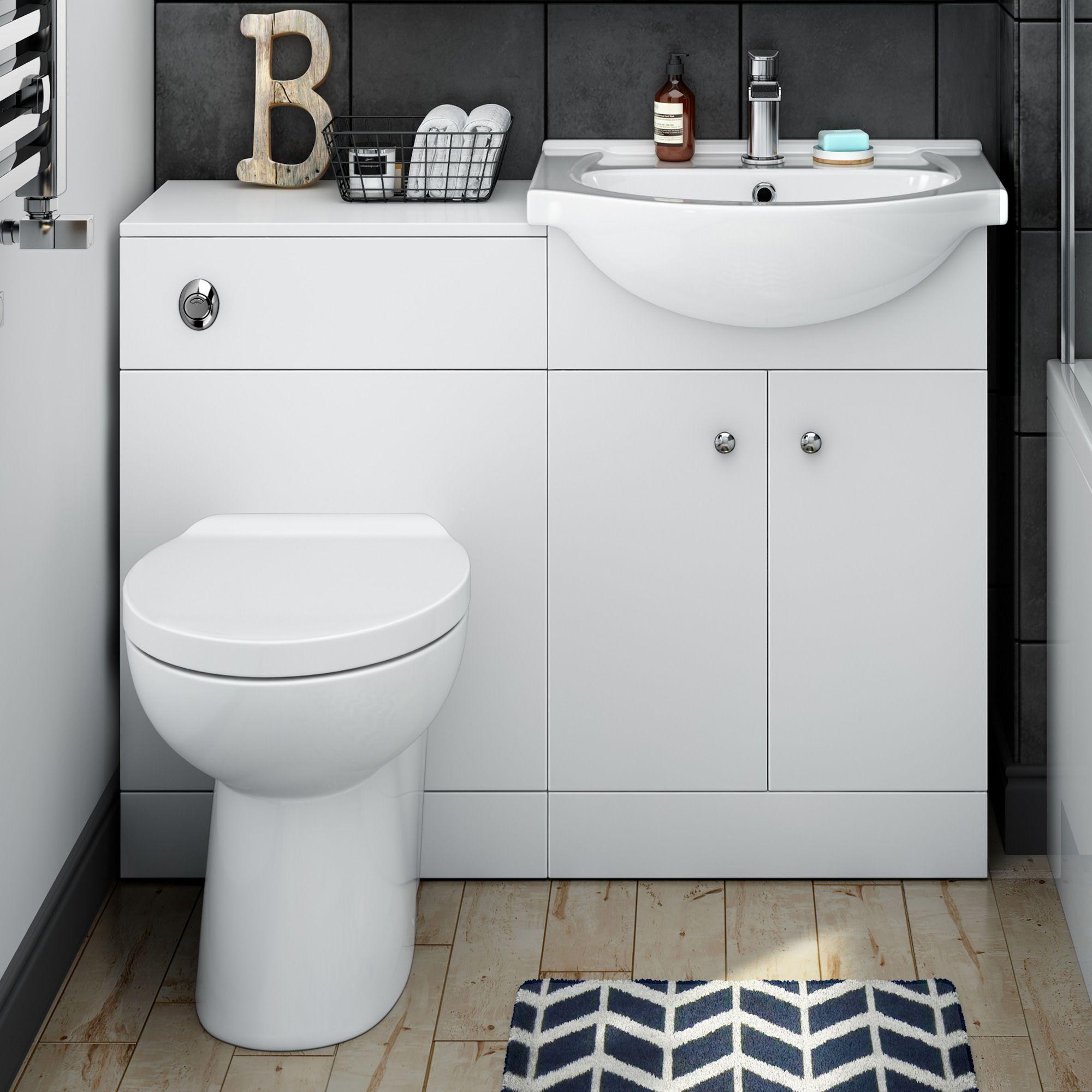 Toilet And Sink Vanity Units Bathroom Furniture Toilet U0026 Basin
