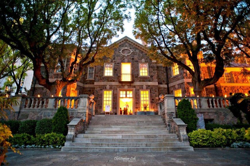 Cool Outdoor Wedding Venues Across Canada: Graydon Hall Manor (185 Graydon Hall Drive, Toronto