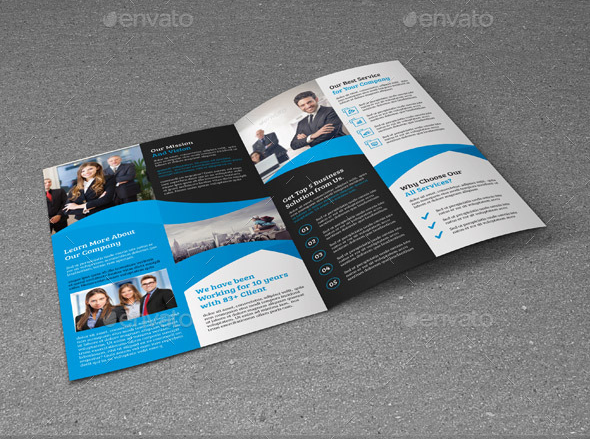 Print Ready MS Word Brochure Template Brochure Template Word - Word templates for brochures