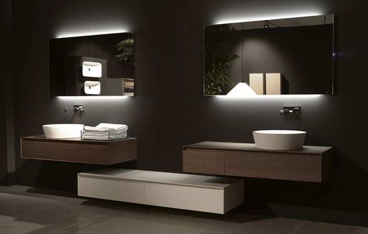 70 Specchi Per Bagno Moderni Dal Design Particolare Bagni