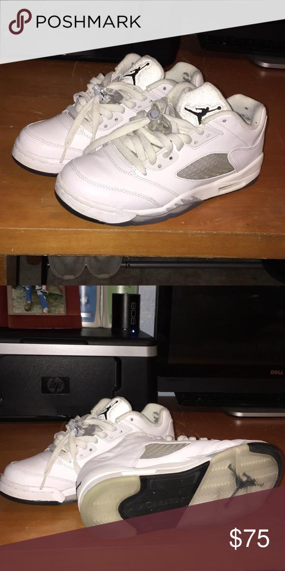 premium selection 1a397 e5ce5 Air Jordan 5 retro low GG white/Black-Wolf grey White/black ...