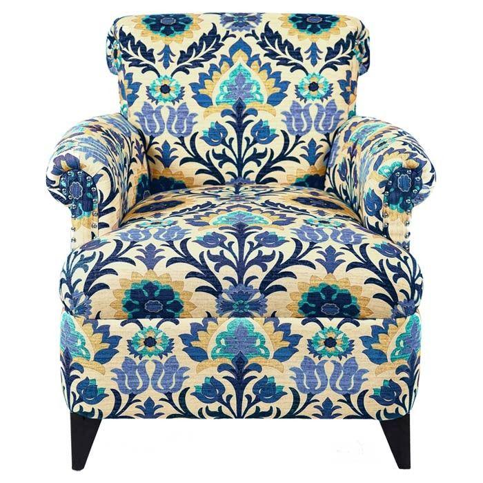 Hilde Arm Chair in Blue
