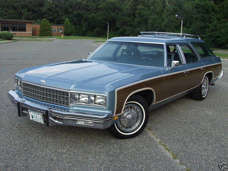 1976 Chevrolet Caprice Estate Wagon Maintenancerestoration Of Old