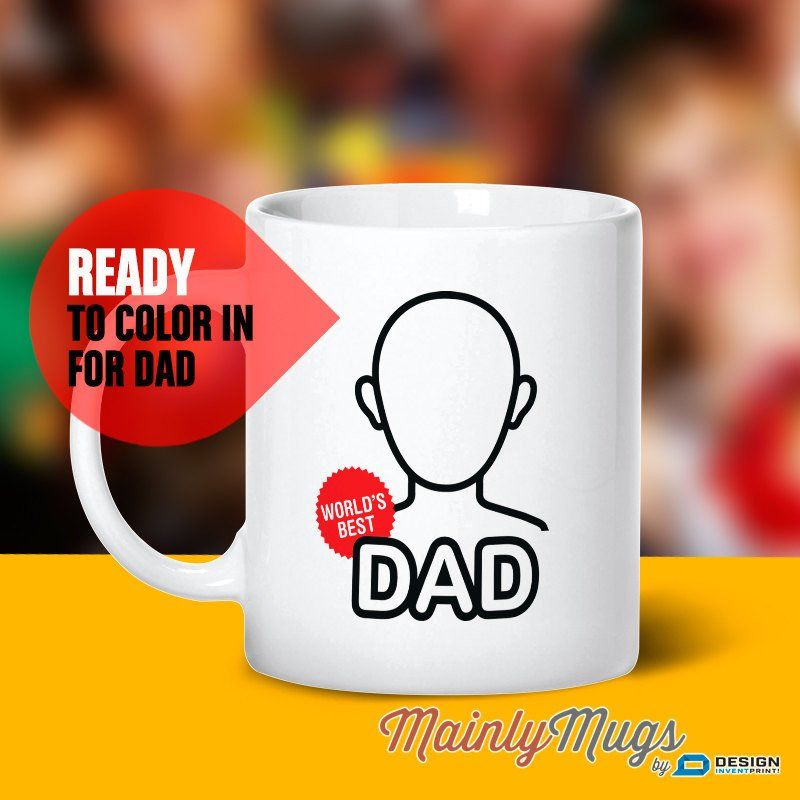 Gift For Dad Father Son Mug Daughter Birthday Daddy Funny