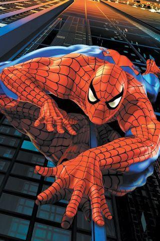 Spiderman Climb Android Wallpaper HD