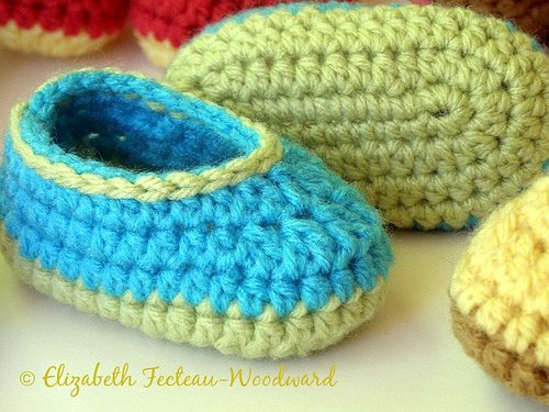 Infant bootie slippers