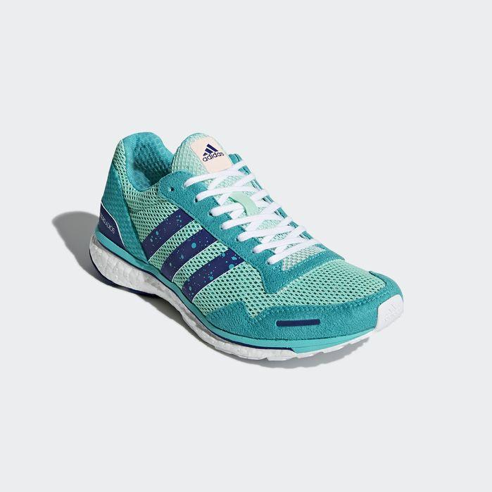 f1370c2eb3ff Adizero Adios 3 Shoes Green 7.5 Womens