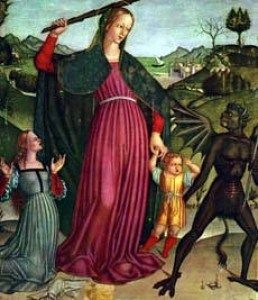 Image result for mary destroyer of heresies