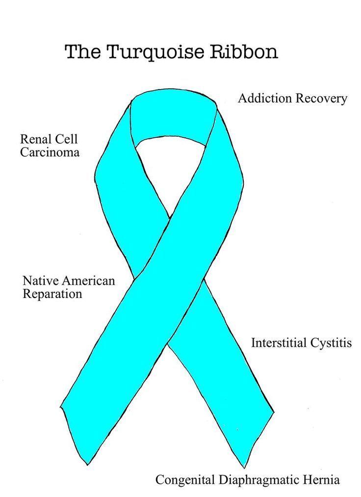 Turquoise Ribbon Congenital Diaphragmatic Hernia