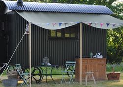 Sawdayu0027s Canopy u0026 Stars is a great collection of treehouses yurts cabins Gypsy caravans and other outdoor gl&ing places in the UK and Europe. & Laverstocku0027s Herdwick Hut | Glamping | Pinterest | Shepherds hut ...