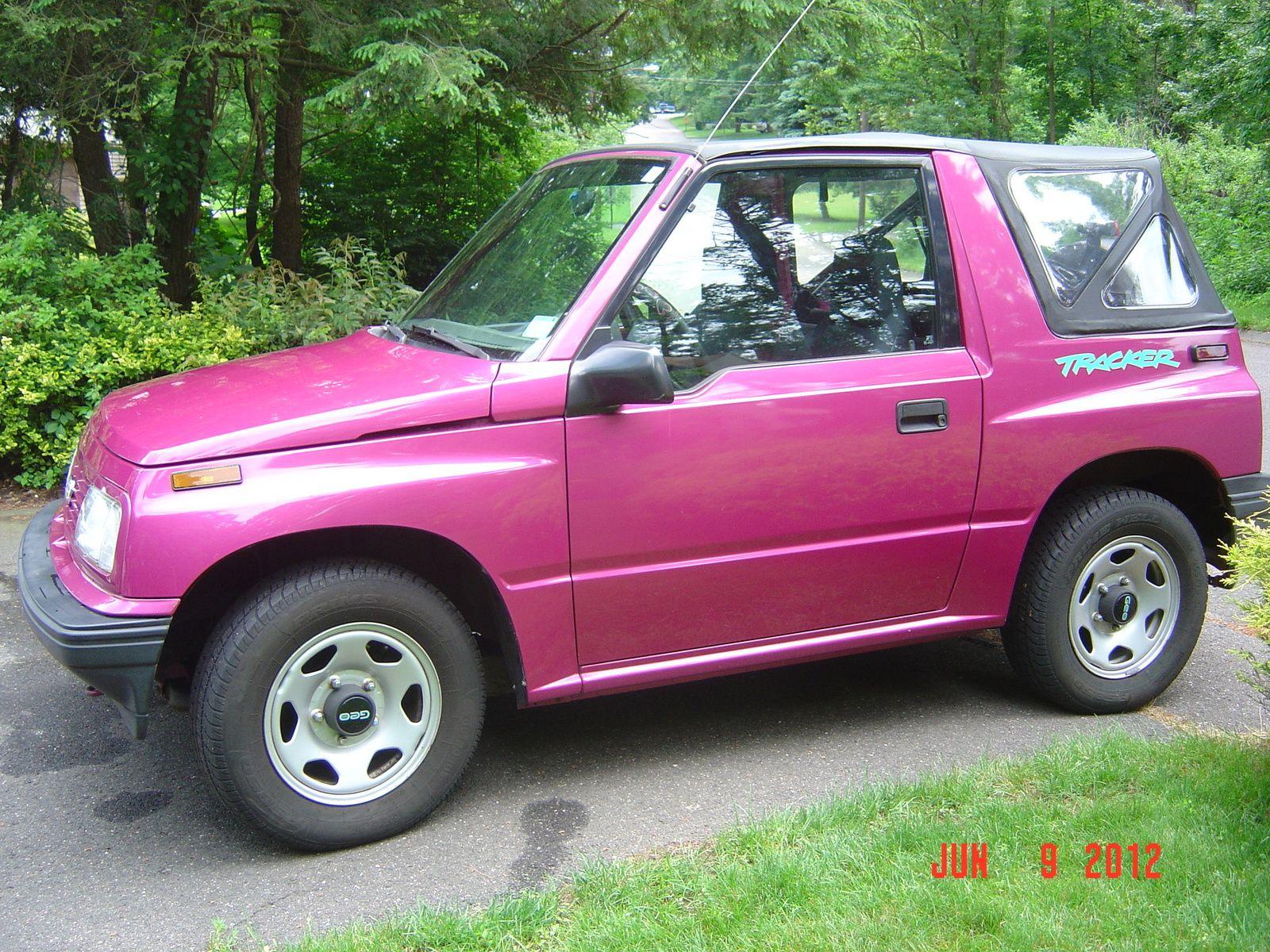 1994 Geo Tracker Pictures Cargurus Tracker Pink Truck Geo