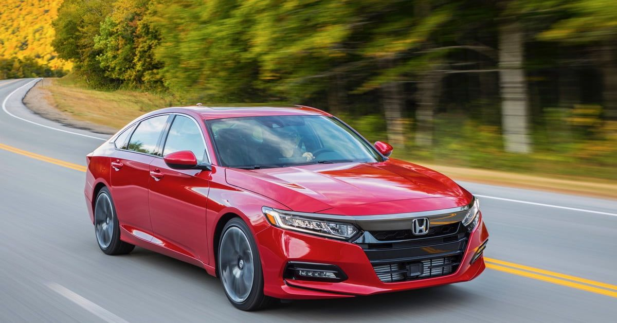 The Best Sedans for 2020 Honda accord sport, Honda