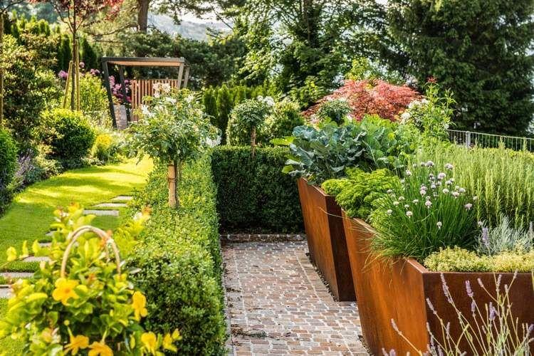 Gartengestaltung   102 Bilder, Schöne Garten Ideen Und Stile