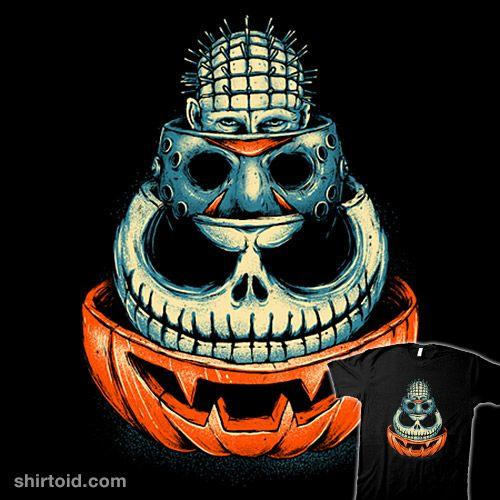 Scare Squad | Shirtoid #film #fridaythe13th #glitchygorilla #halloween #hellraiser #horror #jackskellington #jackolantern #jasonvoorhees #movies #pinhead #thenightmarebeforechristmas