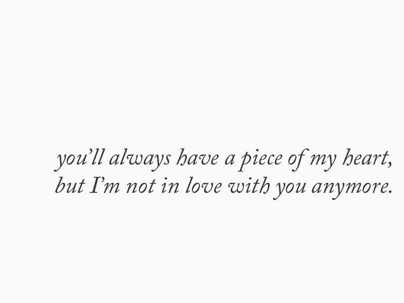 Imágenes De Im Not In Love With You Anymore Quotes