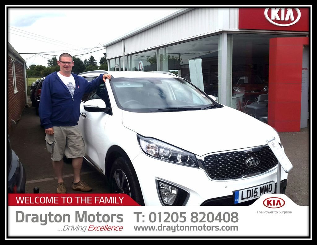 Mr Curson Collecting His Kia Soretno From Amanda Thank You For Your Business And Enjoy Your New Car New Cars Kia Car