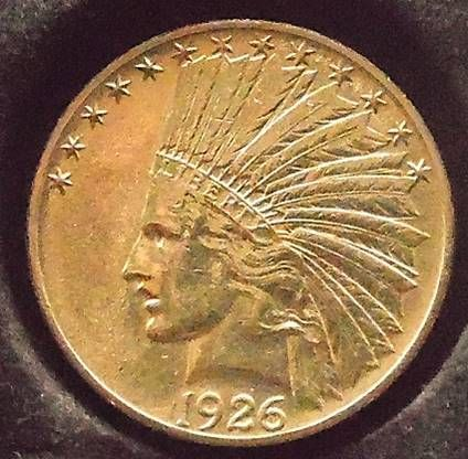Currently At The Catawiki Auctions United States 10 Dollars 1926 Indian Head Gold Old Coins Gold Coins Coin Worth
