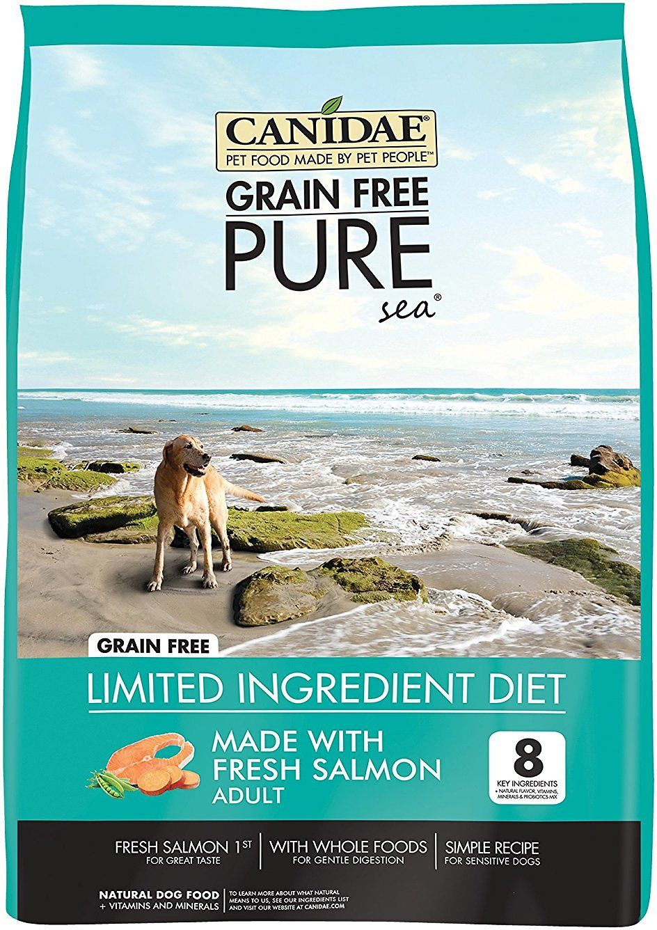 Canidae grainfree pure limited ingredient salmon sweet