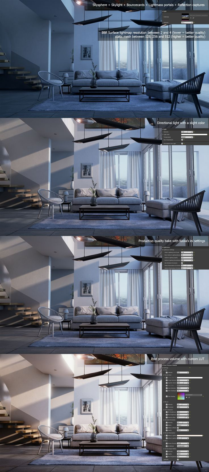 Architectural Visualization Study In Ue4 Realtime With Baked Lighting Edit Many Of You Asked F Architecture Visualization Architecture Cultural Architecture