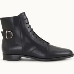Photo of Tod's – Leather ankle boot, black, 41 – Shoes Tod'sTod '…