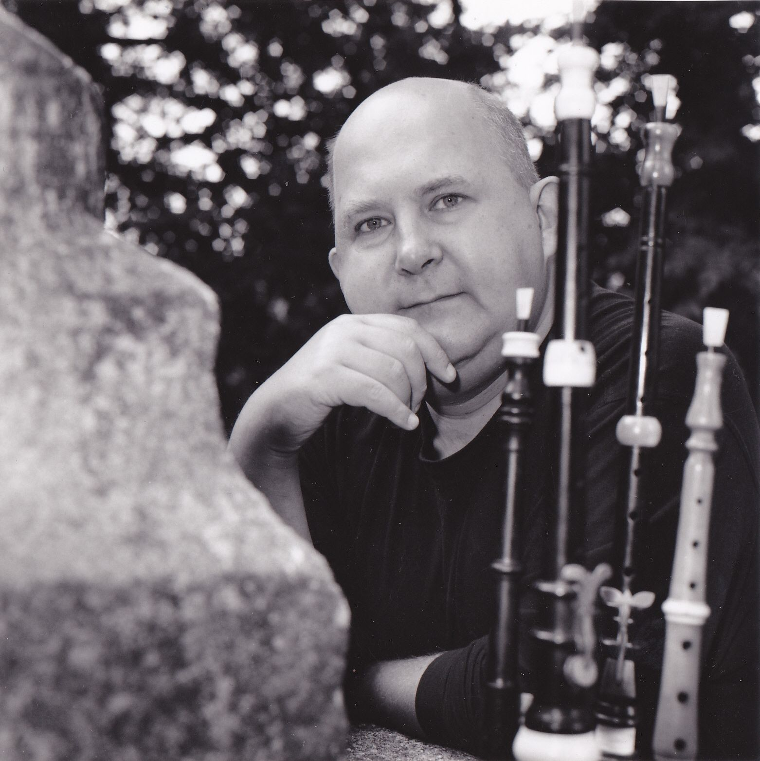 Roland Becker. Photo : Cédric Duclos, 1995.
