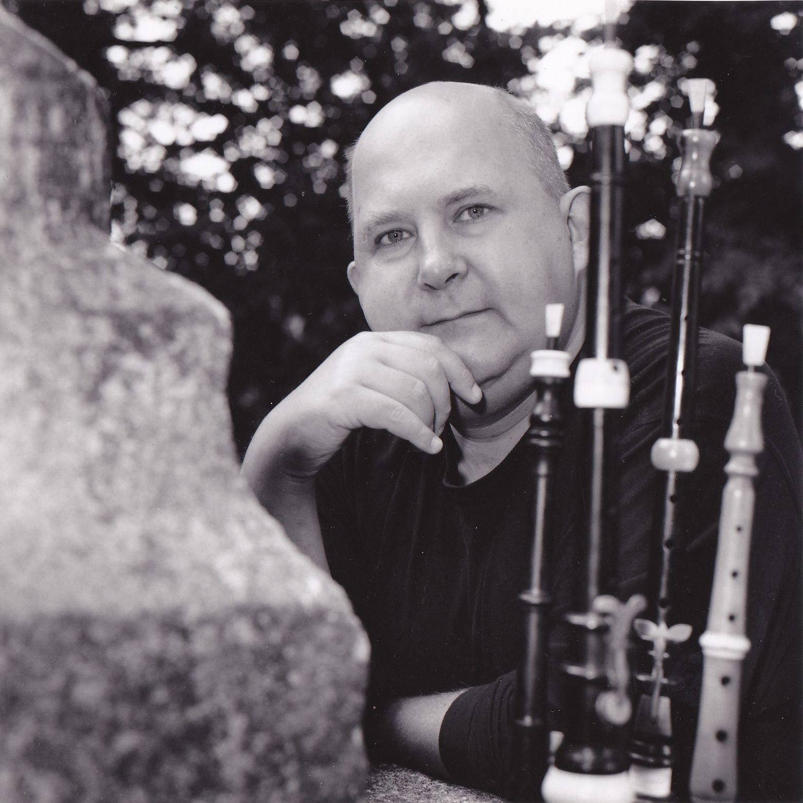 Roland Becker. Photo : Cédric Duclos, 1995.