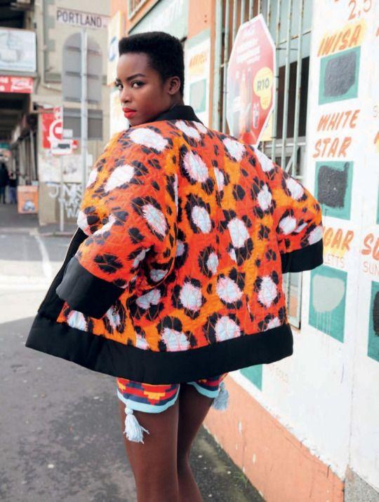 Maria Borges for Elle South Africa November 2016