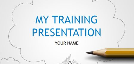 If youre responsible for the training department in your company state of the art ppt template toneelgroepblik Image collections