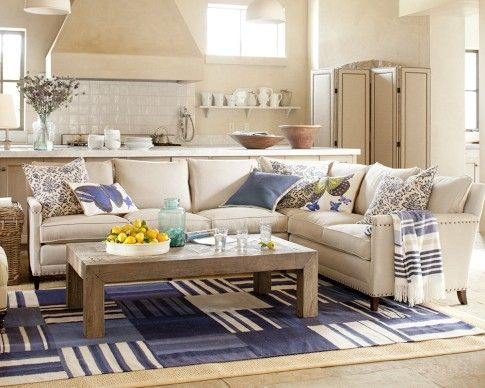 William Sonoma Addison Sectional Like The Small Profile Of The