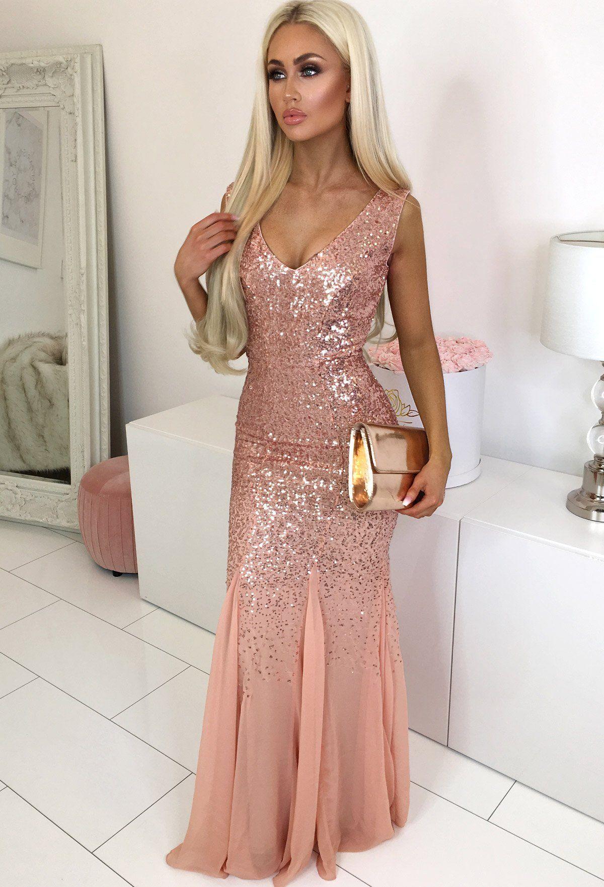 Oscar Night Peach Sequin Maxi Dress Maxi Dress Party Peach Maxi Dresses Dresses [ 1762 x 1200 Pixel ]