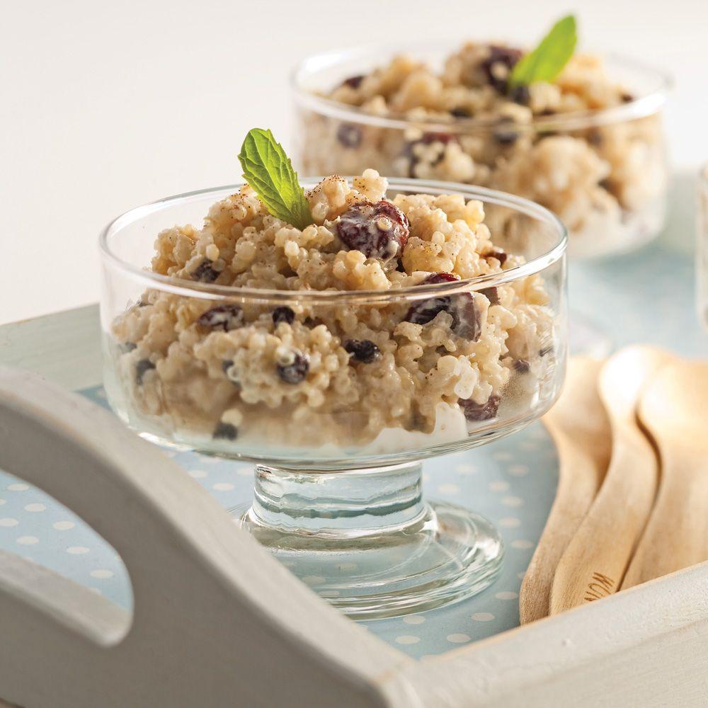 Pouding Au Quinoa Epice Recettes Recette Pouding Et Recette Pouding