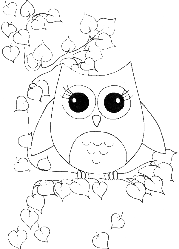 92 Owl Coloring Pages Online