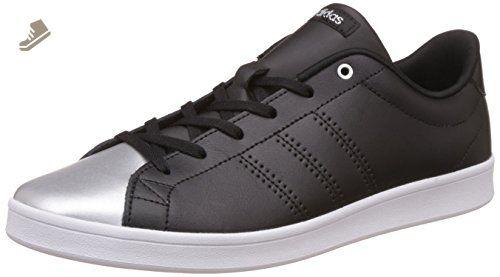 Adidas - Advantage Clean QT - AW4013 - Color: Black-Grey ...